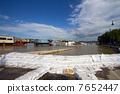 Budapest Hungary Danube Flood 2068 7652447