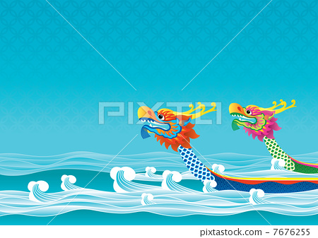 Dragon boat competition is one traditional ceremonies for Tuen Ng Festival 7676255
