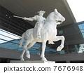 斯福爾扎騎馬雕像 7676948