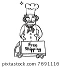 mail, order, cooks 7691116