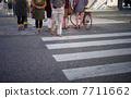 人行横道 步行者 行走 7711662