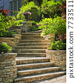 Stone stairs landscaping 7733511