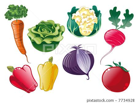 Vegetables. 7734928