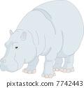 vector, vectors, hippo 7742443