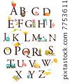 Cute cartoon alphabet 7753611