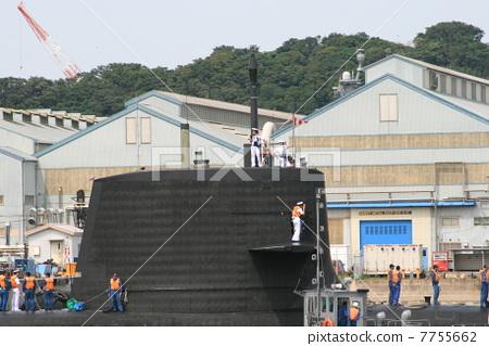 "Landscape of the latest submarine ""Souri"" 7755662"
