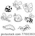 Bugs + 1 snail. 7760363