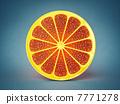 橙色 橘子 橙子 7771278