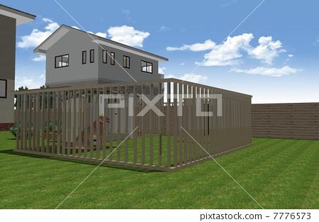 Outdoor kennel 7776573