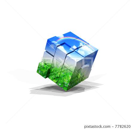 Ecological Rubik's Cube 7782620