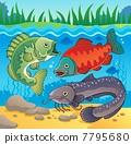 Freshwater fish theme image 3 7795680