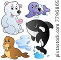 Wintertime animals collection 1 7796865