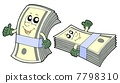 Bank of cute banknotes 7798310