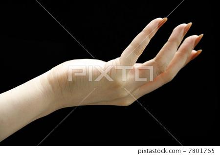 여성의 손 (블랙 백) 7801765
