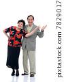 Portrait of senior couple 7829017