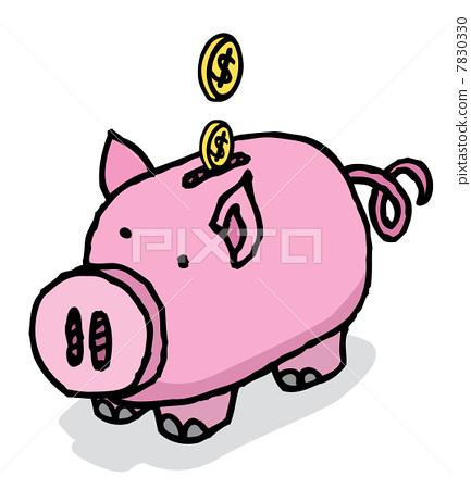 Piggy bank savings 7830330