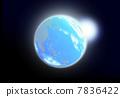 星球 行星 外太空 7836422