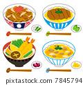 덮밥, 돈부리, 닭고기 7845794