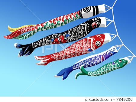 鲤鱼旗 7849200
