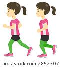 女 - 慢跑-2 7852307