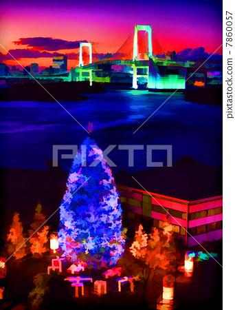오다이바의 크리스마스 7860057