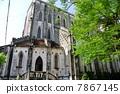 ประตูทางเข้าด้านหลังโบสถ์ใหญ่ของฮานอย·โบสถ์เซนต์โจเซฟ (เวียดนาม) 7867145