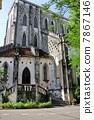 ประตูทางเข้าด้านหลังโบสถ์ใหญ่ของฮานอย·โบสถ์เซนต์โจเซฟ (เวียดนาม) 7867146