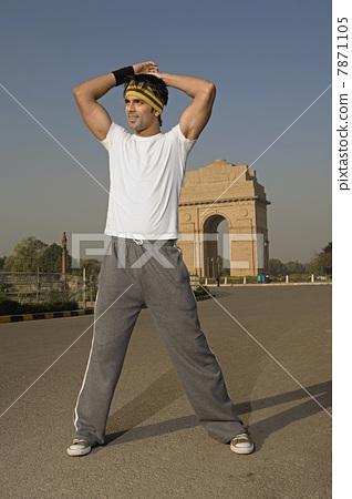 Man exercising  7871105