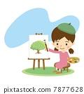 帆布 儿童 孩子 7877628