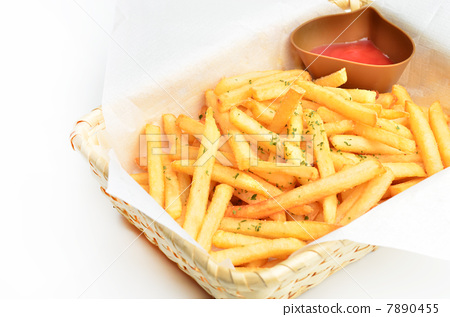 French fries 7890455