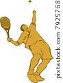 网球 球 人物 7925768