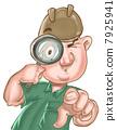 สืบสวน,แว่นขยาย,ค้นหา 7925941