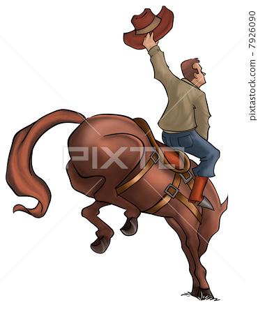 Bucking Rodeo Horse 7926090