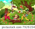 音樂 樂譜 動物 7926154