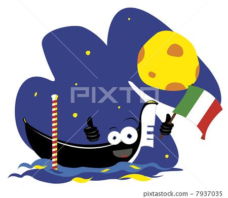 Funny Venice Gondola 7937035