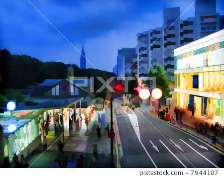 Harajuku Station front 7944107