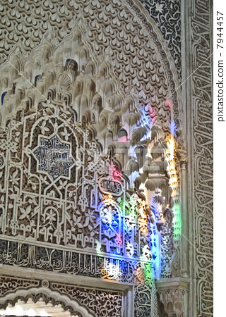 Decoration in the Alhambra 7944457
