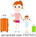 母親女兒旅行 7957501
