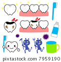 Tooth and caries 7959190