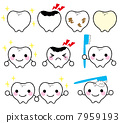 Tooth character 7959193