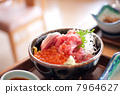 海鲜大餐 摘心一碗米饭 金枪鱼肚 7964627