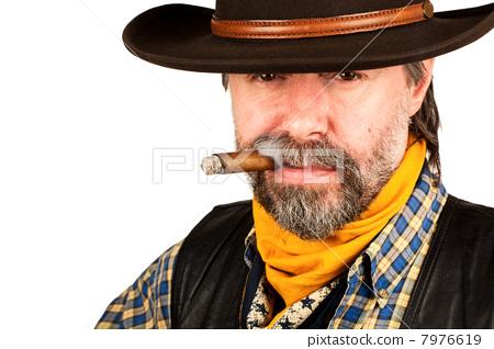 american cowboy smoking cigar 7976619