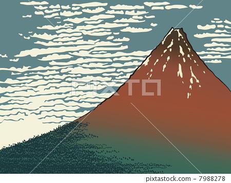 富士山(浮世繪) 7988278