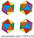 常規二十面體套四種模式 7990128