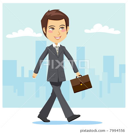 Young Active Businessman 7994556