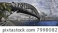 Sydney Harbour Bridge and Opera House. 7998082