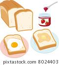 矢量 面包 拥挤 8024403