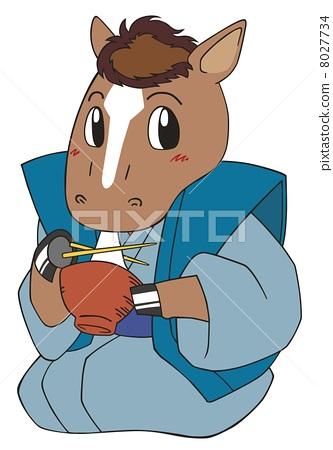 Stock Illustration: animals, animal, horse