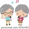 Chanting, sing, karaoke 8042986