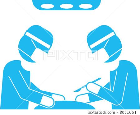外科醫生象形圖 8051661